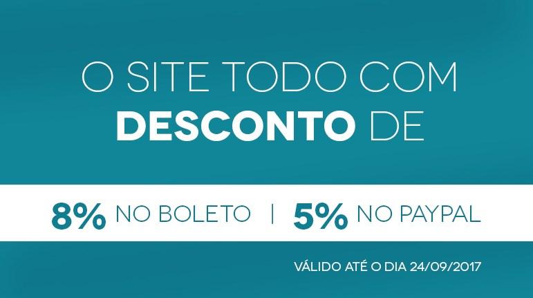Desconto 8%