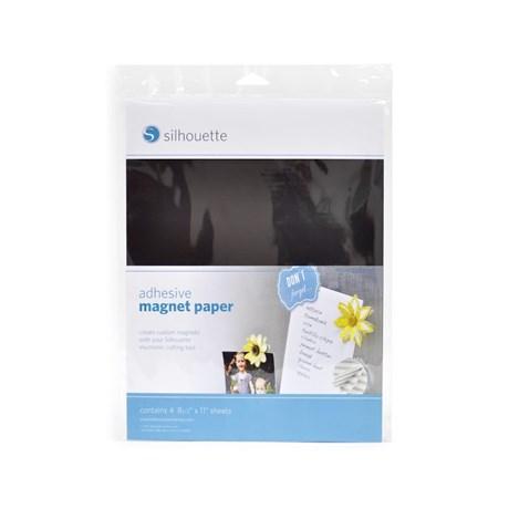 Adesivo Magneto Silhouette com 4 Folhas A4