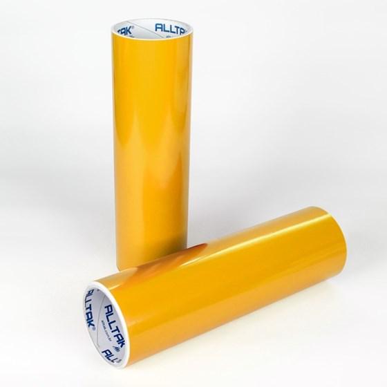 Adesivo Mania Amarelo Ouro Alltak 30cm x 5m