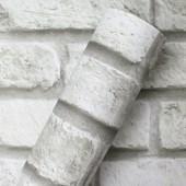 Adesivo Mania Decor Sl Tijolo Branco 61cm x 5m