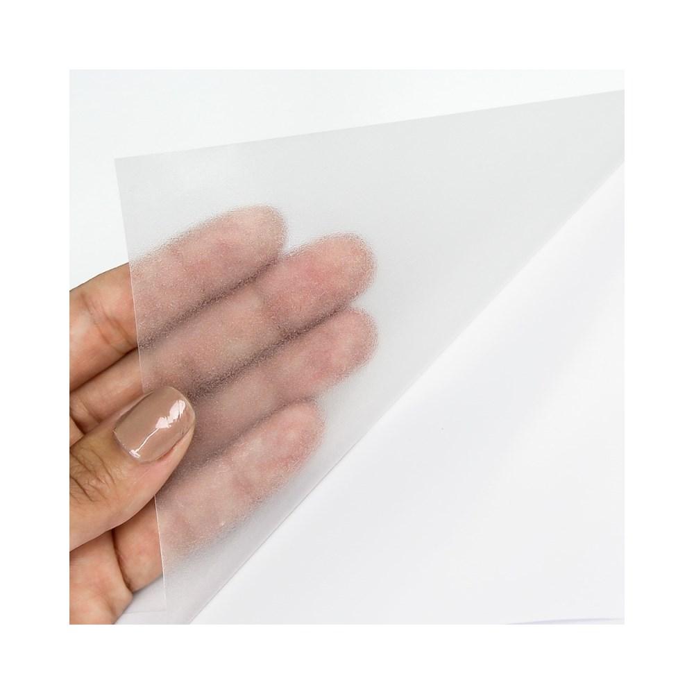 Adesivo Mania Jateado Transparente 30cm x 5m