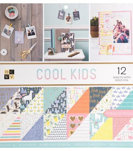 Bloco de Papéis Scrap 30X30 Cool Kids