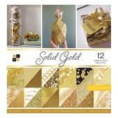 Bloco de papéis Scrap 30x30 Solid Gold