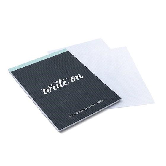 Caderno Para Desenhos Grid Pad Kelly Creates