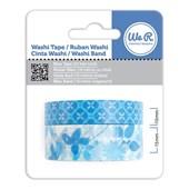 Fita Adesiva Decorativa Washi Tape WER Azul 2 Rolos 15,8 M Wrwt 422037