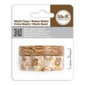 Fita Adesiva Decorativa Washi Tape WER Marrom 2 Rolos 15,8 M Wrwt 422051