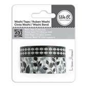 Fita Adesiva Decorativa Washi Tape WER Preta 2 Rolos 15,8 M Wrwt 422068