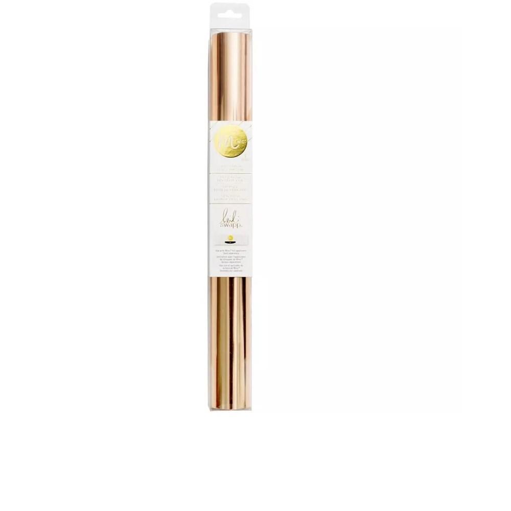 Foil Ouro Rose 31cm x 3m Minc