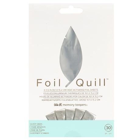 Foil Quill Prata 10cm x 15cm pct c/ 30 Folhas
