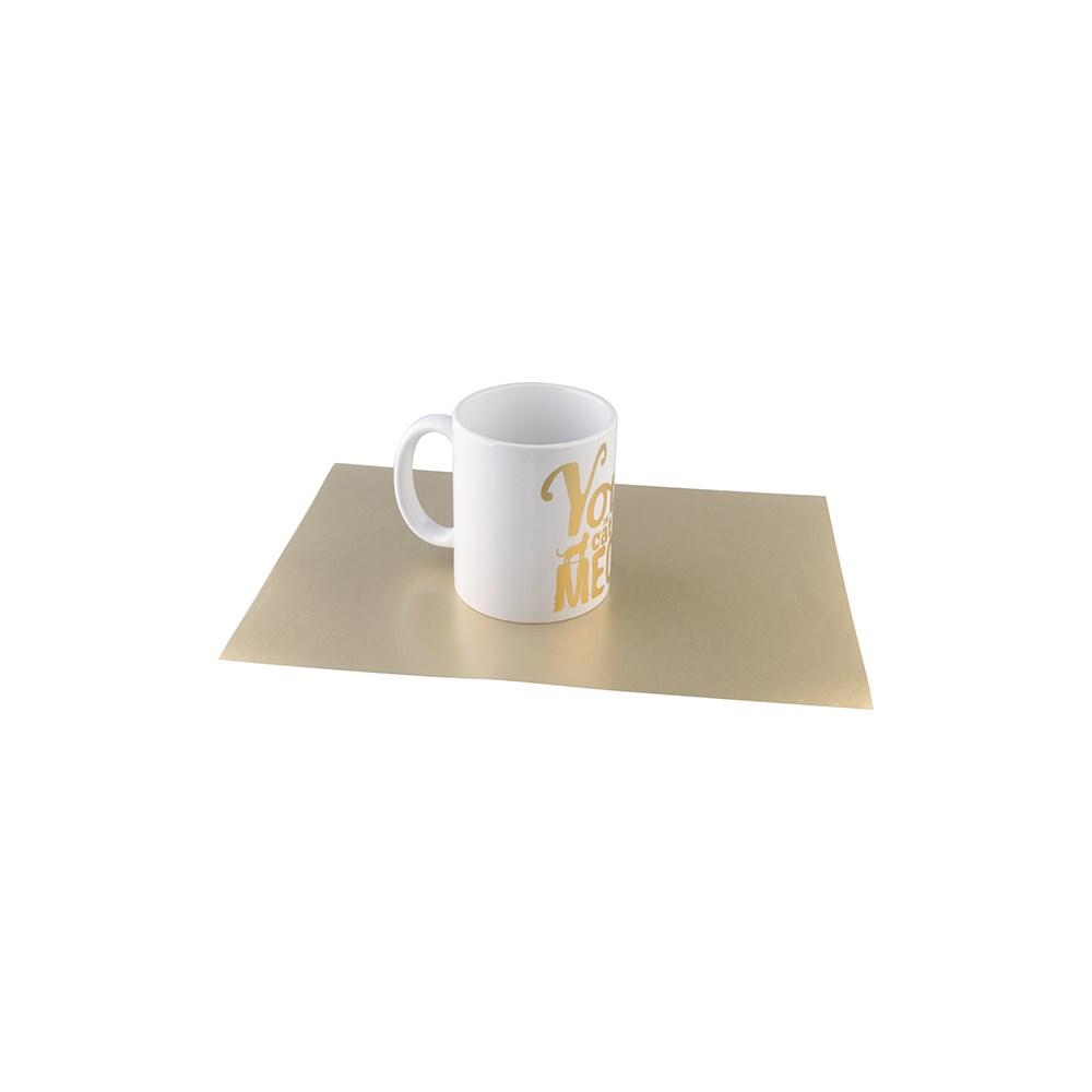 Folha De Sublimação Multi Trans A4 Dourada Bestsub