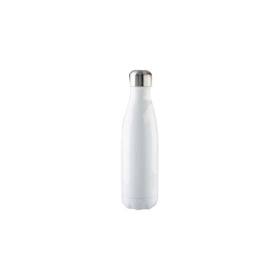 Garrafa Alumínio P/ Sublim. Branca Formato Coka 500ml 17oz Bestsub