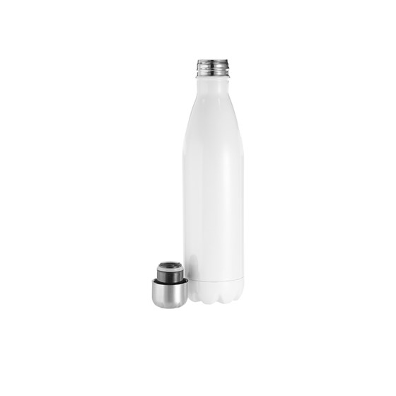 Garrafa Alumínio P/ Sublim. Branca Formato Coka 750ml 25oz Bestsub