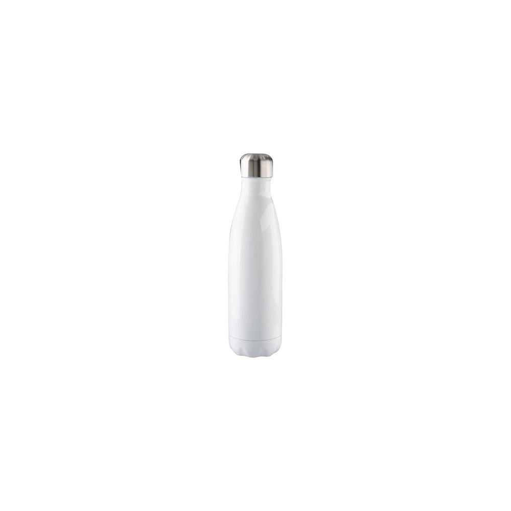 Garrafa De Alumínio Para Sublimação Branca Formato De Coka 500ml 17oz Bestsub