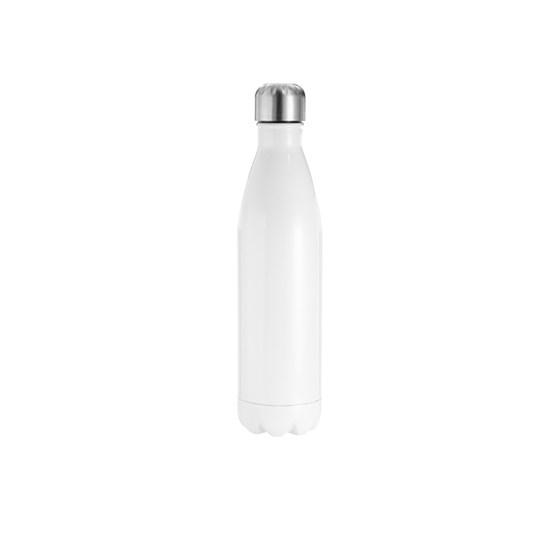 Garrafa De Alumínio Para Sublimação Branca Formato De Coka 750ml 25oz Bestsub