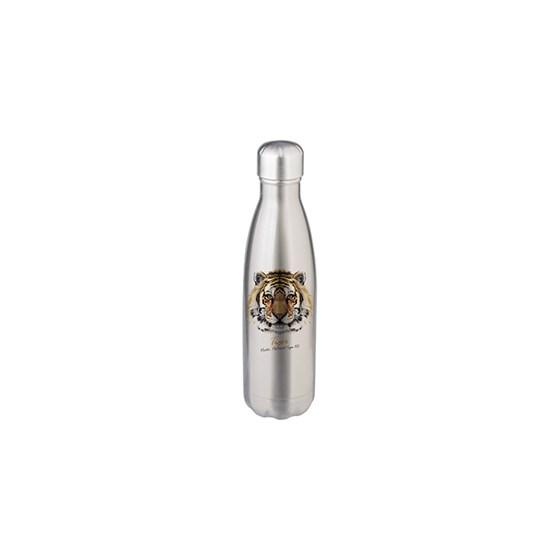 Garrafa De Alumínio Para Sublimação Prata De 500ml 17oz Bestsub