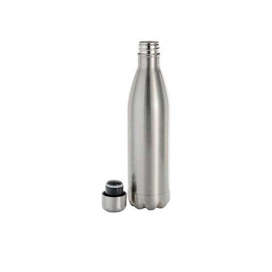 Garrafa De Alumínio Para Sublimação Prata Formato De Coka 750ml 25oz Bestsub