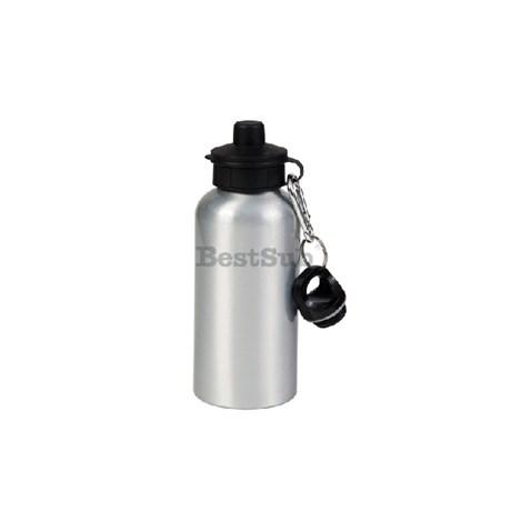 Garrafa Squeeze Alumínio P/ Sublimação Prata 500ml Bestsub