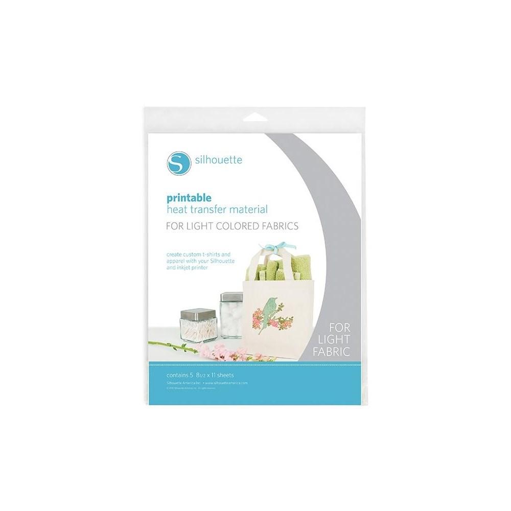 Heat Transfer de Impressão para Tecido Claro 5 Folhas