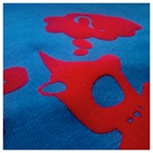Heat Transfer Flock Tubitherm Red Ss 200 0,25X1M