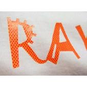 Heat Transfer Poli-Flex Fashion Manta Ray Orange 4265 (Laranja) 0,48X1M - Poli-Tape