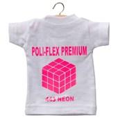 Heat Transfer Poli-Flex Premium Neon Pink 443 (Rosa Neon) 0,25M X 1M - Poli-Tape