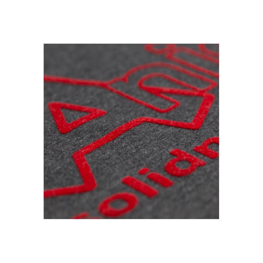 Heat Transfer Poli-Tape Flocado 0,25M X 1M Vermelho
