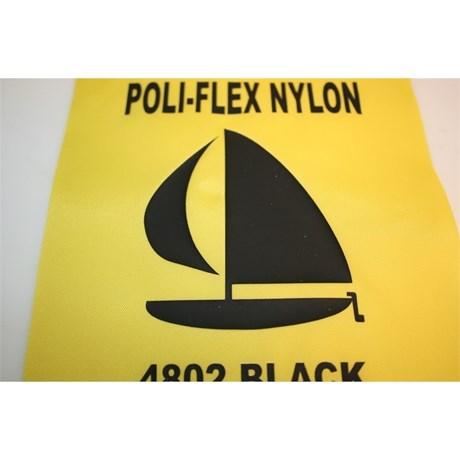 Heat Transfer Poliflex Nylon Preto 4802 0,50 x 1m