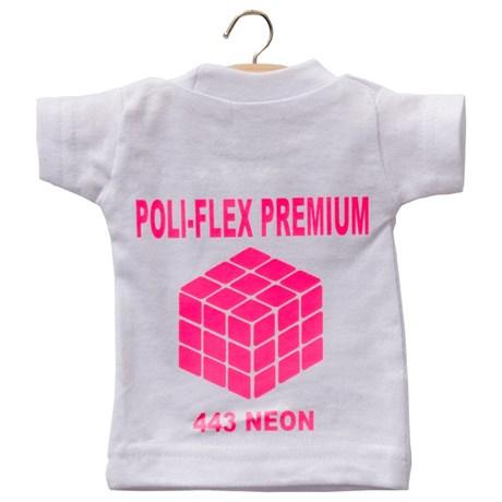 Heat Transfer Poliflex Premium Neon Pink 443 0,50X1M