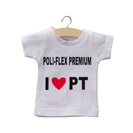 Heat Transfer Poliflex Premium Preto 0,50x1m