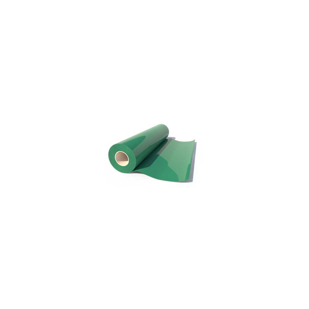 Heat Transfer Poliflock Dark Green 504 0,50 x 1m Poli-Tape