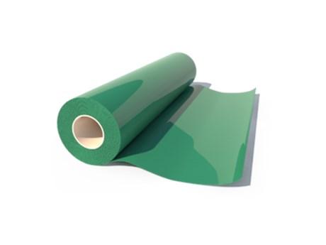 Heat Transfer Poliflock Dark Green 504 0,50X25M Poli-Tape