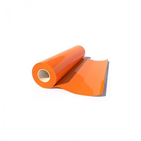 Heat Transfer Poliflock Orange 515 0,50X25M Poli-Tape