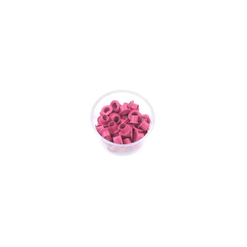 Ilhós 3/16 Pink 50 Peças