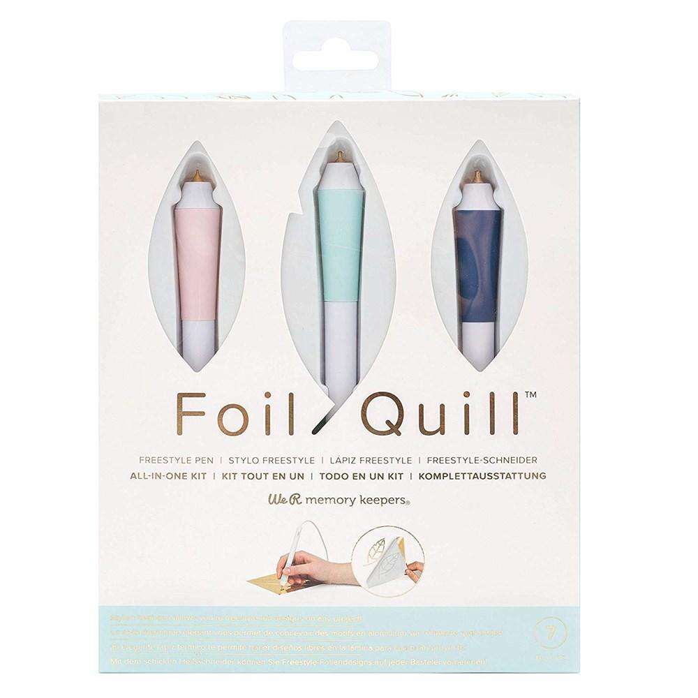 Kit 3 Canetas Freestyle Pen Foil Quill We R