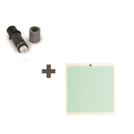 Kit Base de Recorte Cameo 30x30 cm  e Lâmina Reposição Silhouette