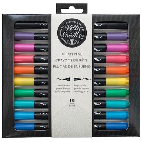 Kit De Canetas Coloridas Para Desenho Kelly Creates