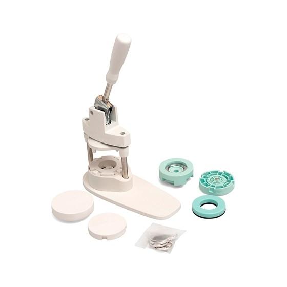 Kit Máquina de fazer Bottons + 25 Bottons Médios We R