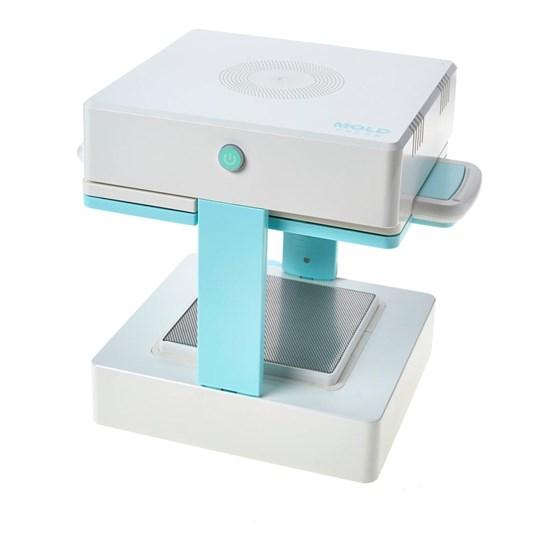 Kit Mold Press Máquina de prensagem a vácuo 3D + 06 Folhas Plásticas