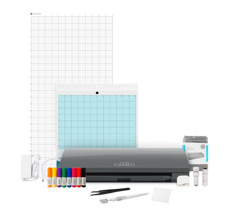 Kit Silhouette Cameo 3 Cinza Completo 2