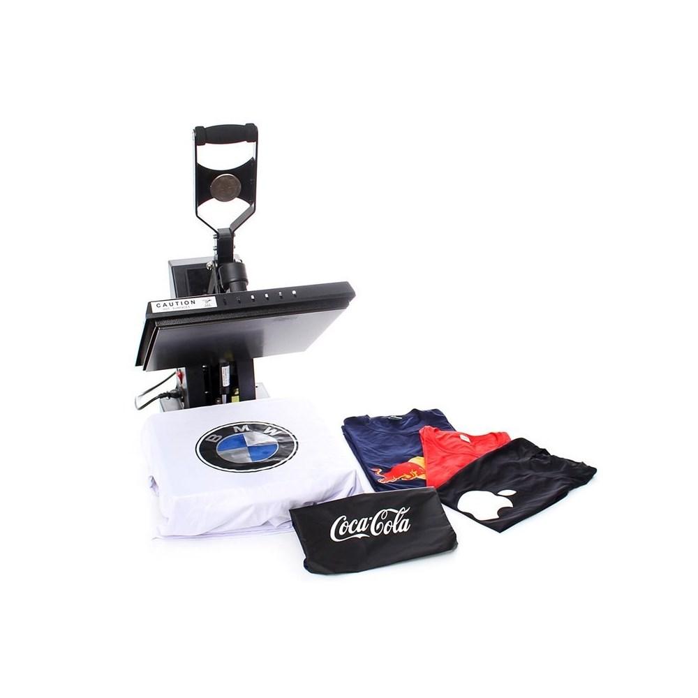 Kit Silhouette Cameo 3 + Prensa Térmica 38x38 cm