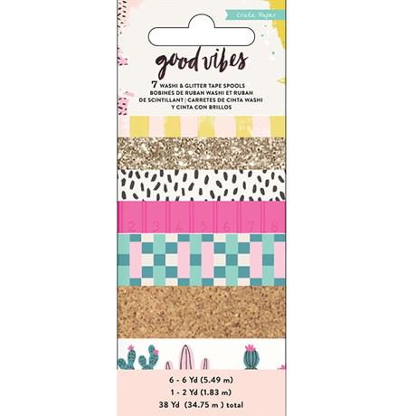 Kit Washi Tape Good Vibes