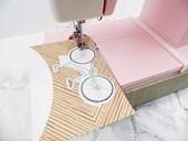 Máquina de Costura Rosa WER