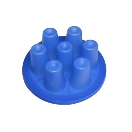 Membrana de Silicone em Mini Copos