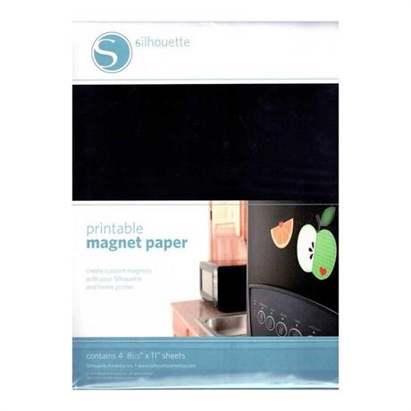 Mídia Magnetica para Impressão Silhouette 4 Folhas