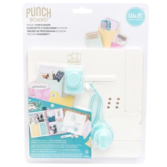 Mini Base Criativa Bolsinhos Pocket Maker Punch Board We R