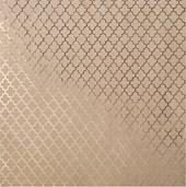 Papel 30X30 Kraft Com Foil Dourado Latice Heidi Swapp