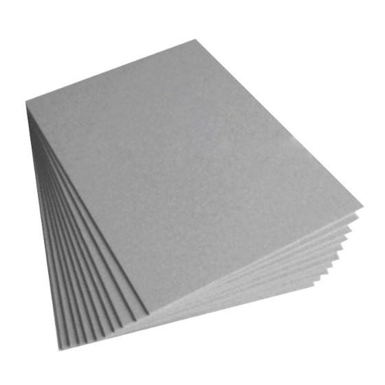 Papel Cartão Cinza 25 A4 1,55mm