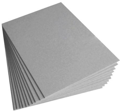 Papel Cartão Cinza H35 A4 1,50mm