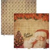 Papel de Scrap Feliz Natal 30X30
