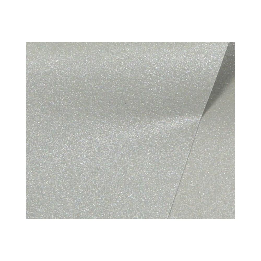 Papel de Scrap Metalizado Face Prata 180g 30x30